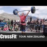 CrossFit Tour Hang Snatch Event
