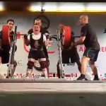 Fedosienko Sergey hits 300kg Squat at 59kg Bodyweight