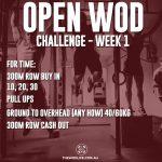 OPEN WOD CHALLENGE - Week 1