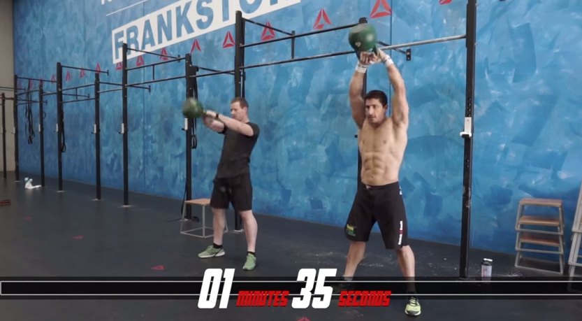 Rob Forte and Chris Hogan do CrossFit Workout HELEN - The WOD Life