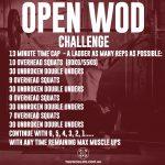 OPEN WOD CHALLENGE - Week 4
