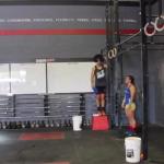 Kara Webb does CrossFit Open Workout 15.3