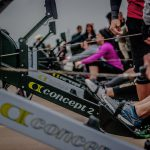 Rowing for Calories in CrossFit