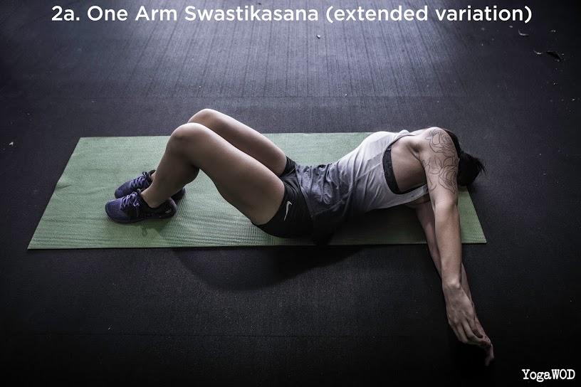 one arm swastikasana ext variation header