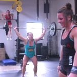 Becca Voigt, Emily Bridgers and Stacie Tovar CrossFit Workout