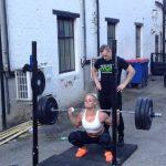 Back Squat: 100kg x 12 Reps By Ragnheidur Sara Sigmundsdóttir