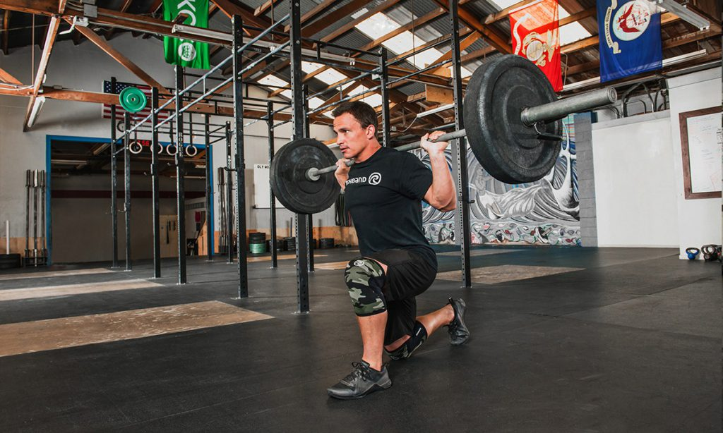 Josh Bridges Rehband Knee Sleeves The WOD Life CrossFit Australia