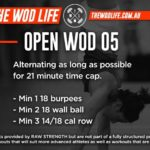 RAW STRENGTH & CONDITIONING – OPEN WOD 05