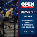 2016 CROSSFIT OPEN WORKOUT 16.1