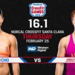 CrossFit Open Announcement 16.1 Abbott vs. Cho