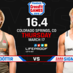 CROSSFIT OPEN ANNOUNCEMENT 16.4 Davidsdottir VS. Sigmundsdottir