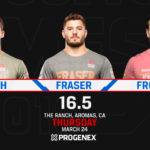 CROSSFIT OPEN ANNOUNCEMENT 16.5 FRONING VS SMITH VS FRASER