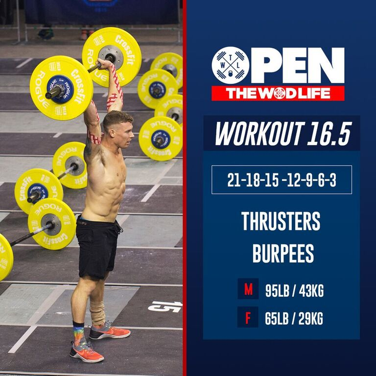 2016 Crossfit Open Workout 16 5 The Wod Life