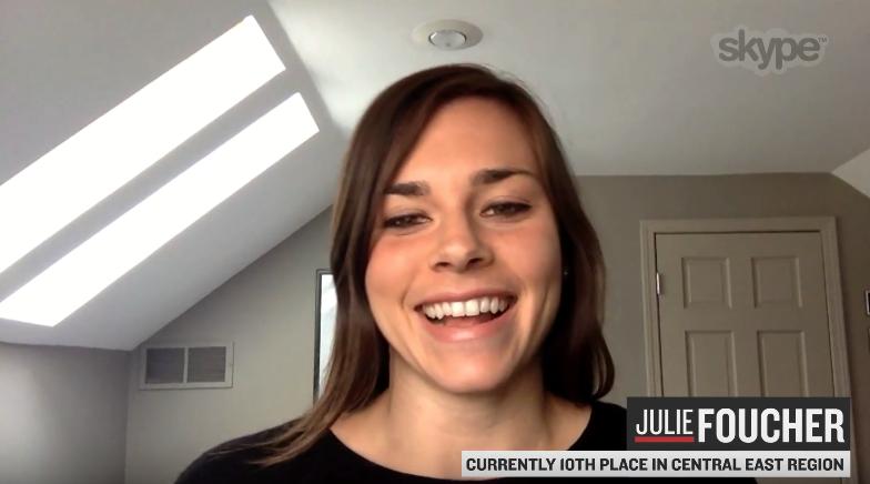 Julie Foucher Qualifies for Regionals