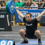 Rich Froning Does Event 1 of 2016 Regionals