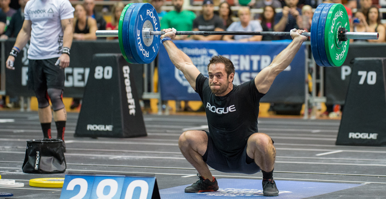 rich froning does event 1 of 2016 regionals the wod life