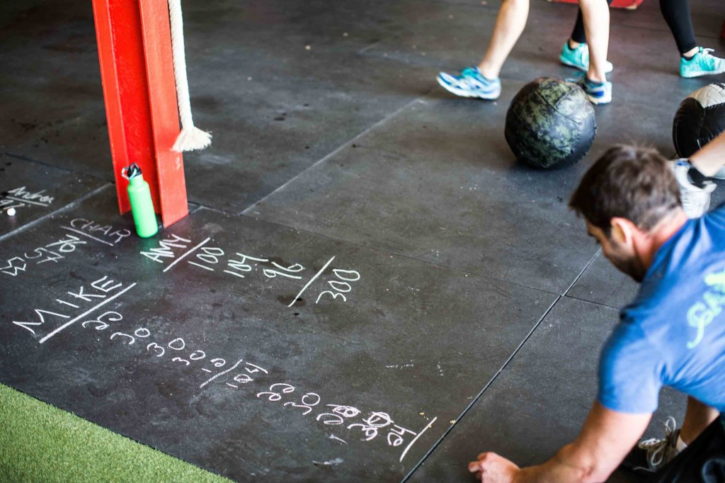 CrossFit Rep Counting