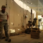 Danish Soldier Completes CrossFit Open on Army Base