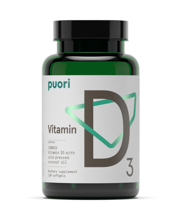 vitamin d supplement from puori