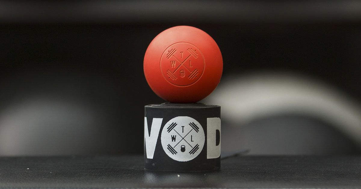 the wod life lacrosse ball