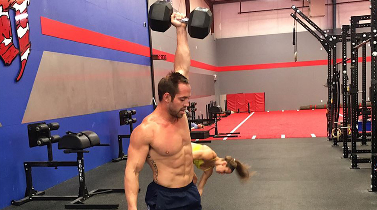 Rich Froning Tackled This Dumbbell Snatch Complex With 100 Pounds - The WOD Life