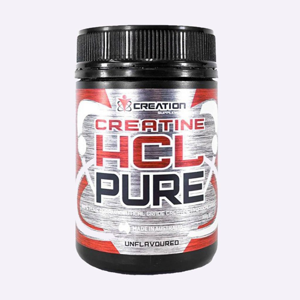 creatine supplement HCL Pure