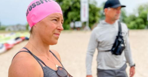 Event 1 swim and paddle 2021 crossfit games