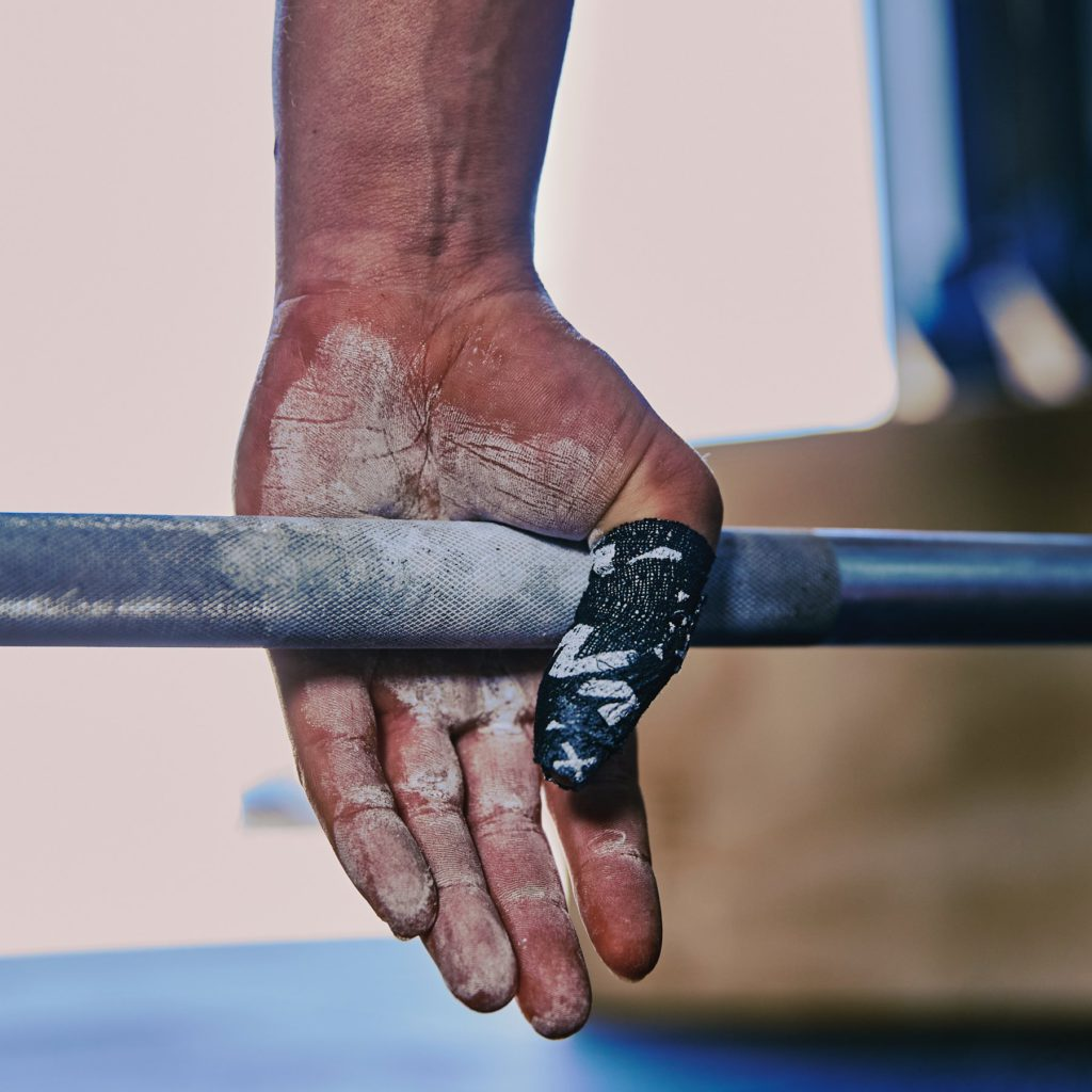 finger tape fitness gear