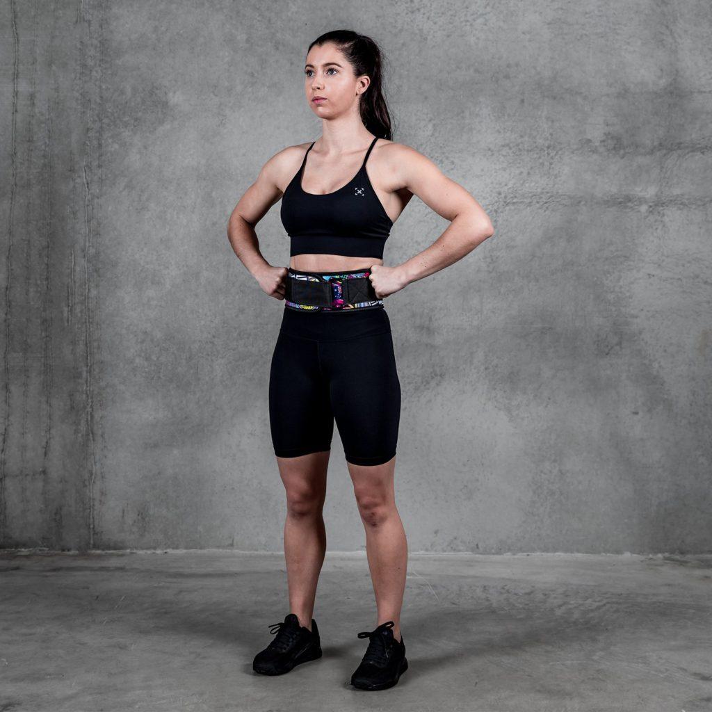 weightlifting belt fitness gear